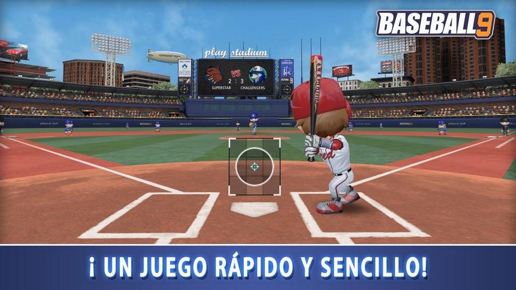 Baseball 9 MOD APK - Gameplay
