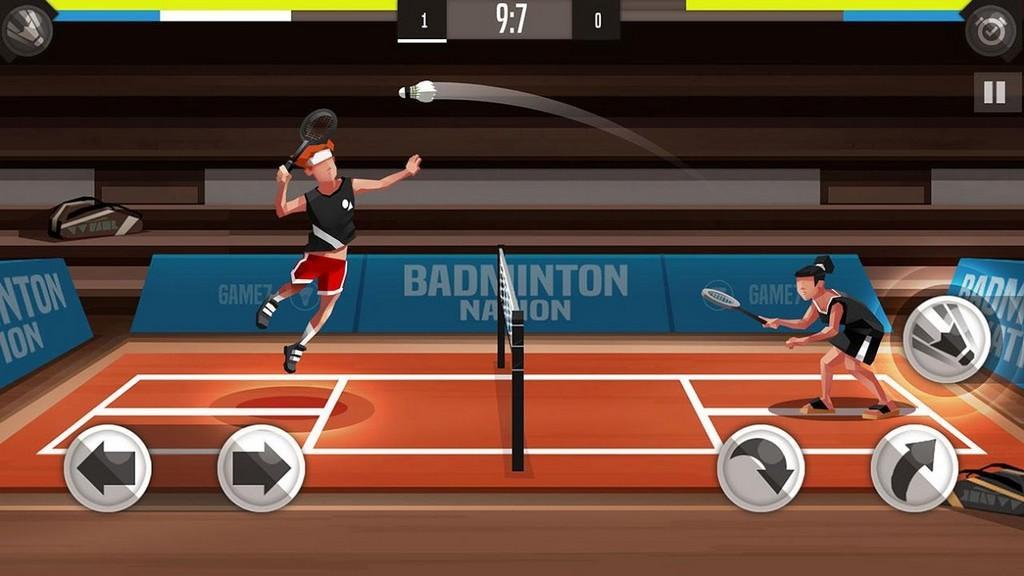 Badminton League MOD APK - Gameplay