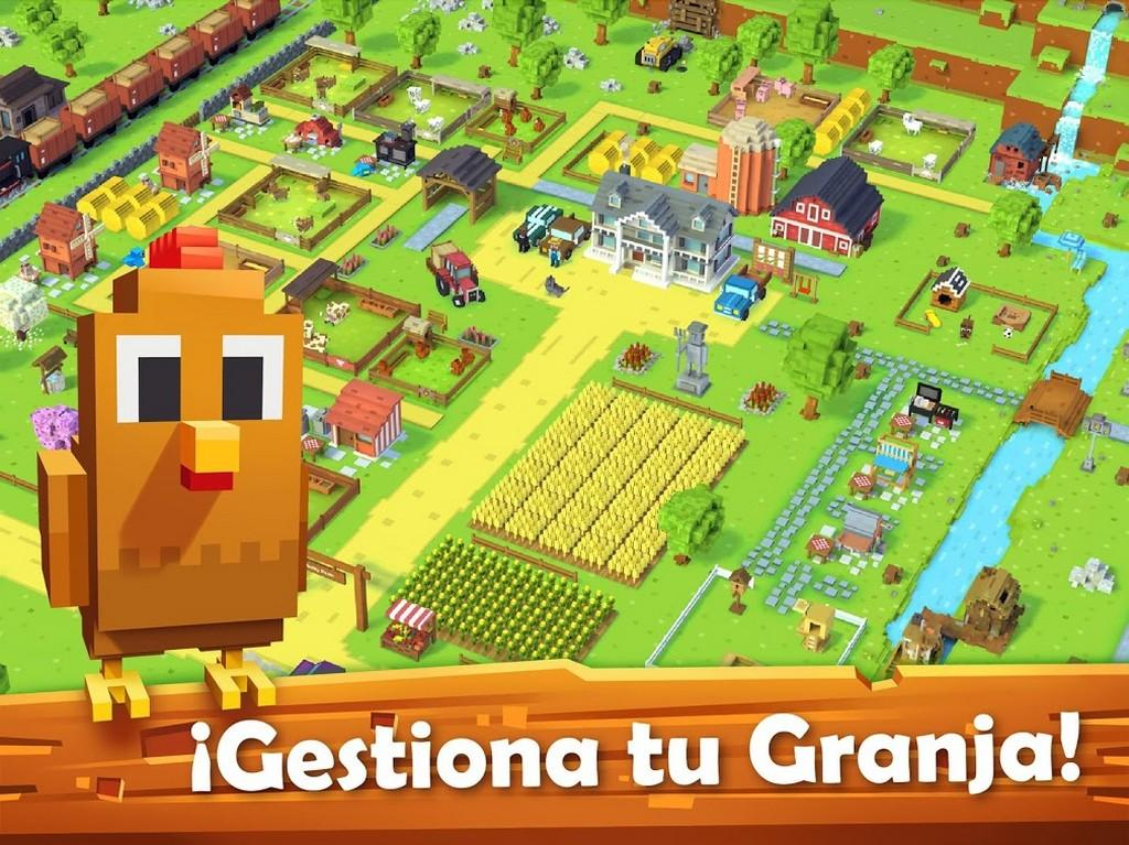 Blocky Farm MOD APK - Gameplay