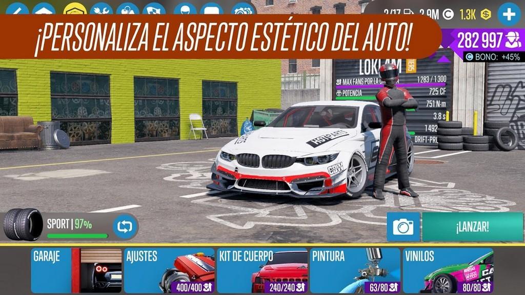 CarX Drift Racing 2 MOD APK - Gameplay