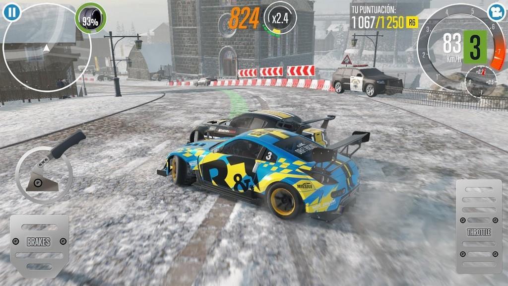 CarX Drift Racing 2 MOD APK - Hipódromo diverso
