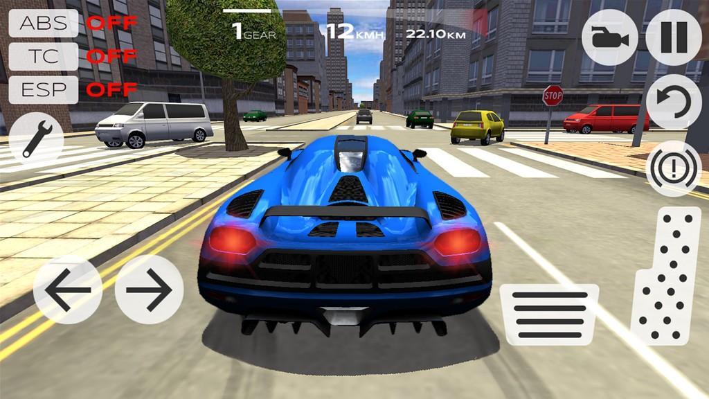 Extreme Car Driving Simulator MOD APK - Muestra tus habilidades