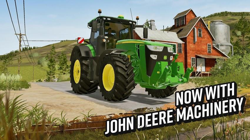 Farming Simulator 20 APK MOD Imagen 1