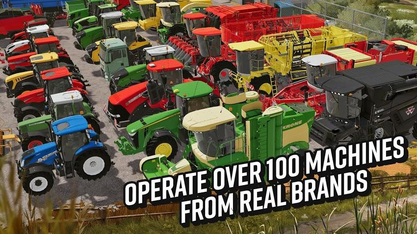 Farming Simulator 20 APK MOD Imagen 3
