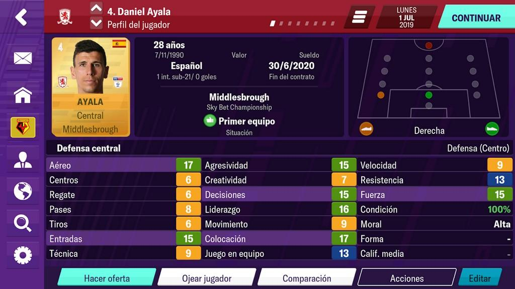 Football Manager 2020 Mobile - Gameplay