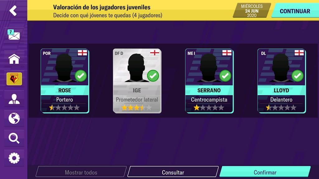 Transferencia, entrenamiento de jugadores