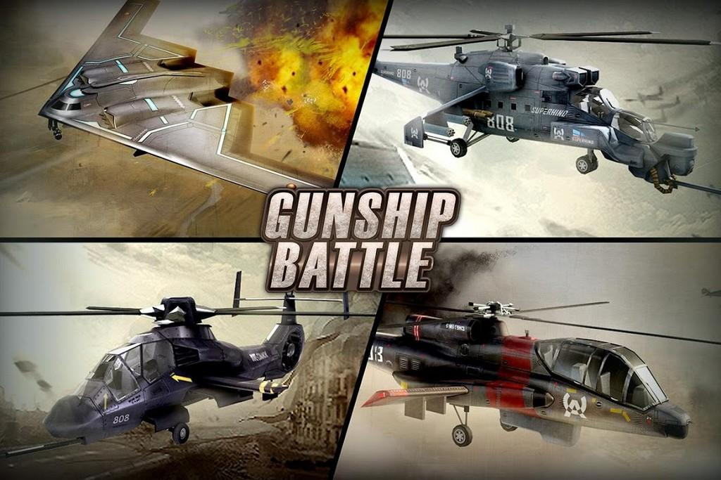 Gunship Battle: Helicopter 3D APK - Gameplay