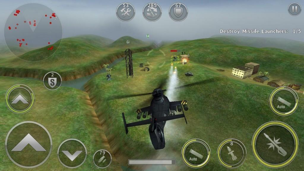 Gunship Battle: Helicopter 3D APK - Muchas misiones