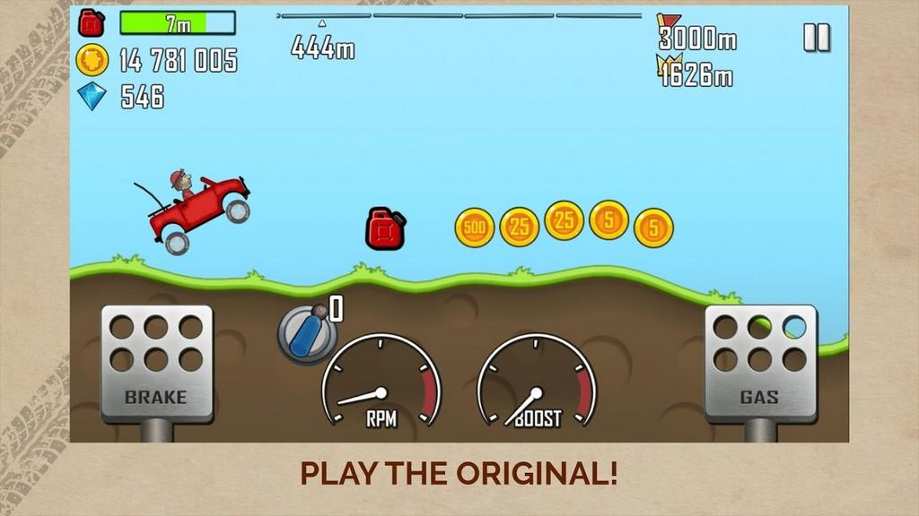 Hill Climb Racing MOD APK - Gameplay