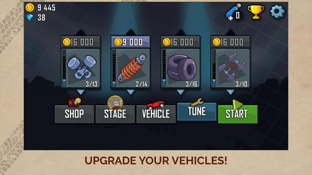 Mejora tus vehículos