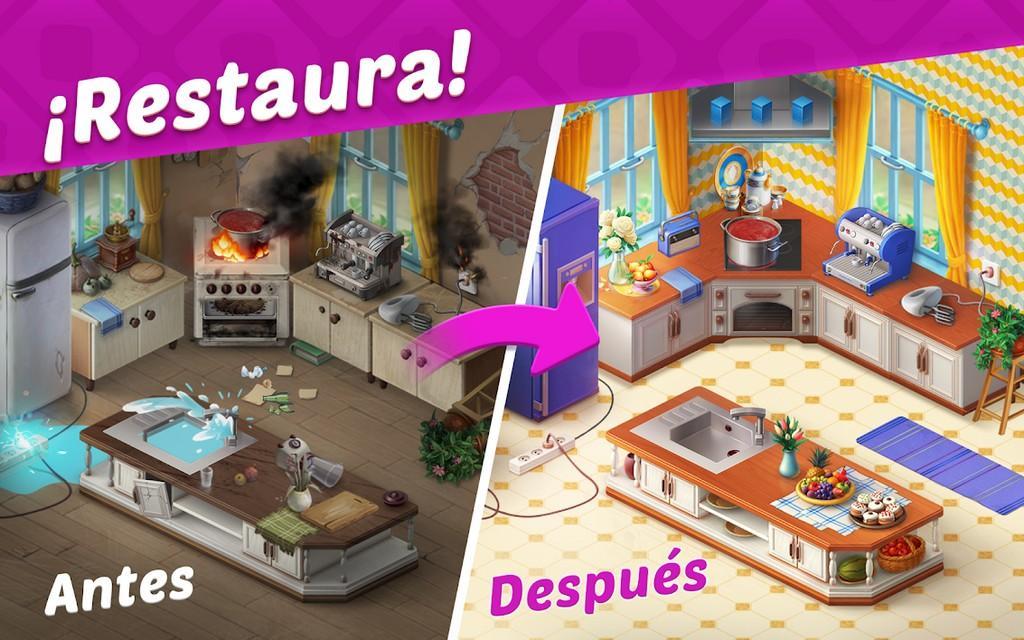 Homescapes MOD APK - Restaura!