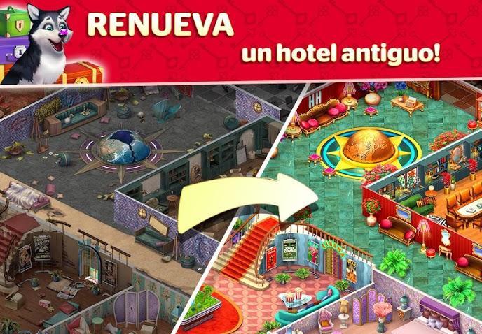 Hotel Blast APK MOD Imagen 1