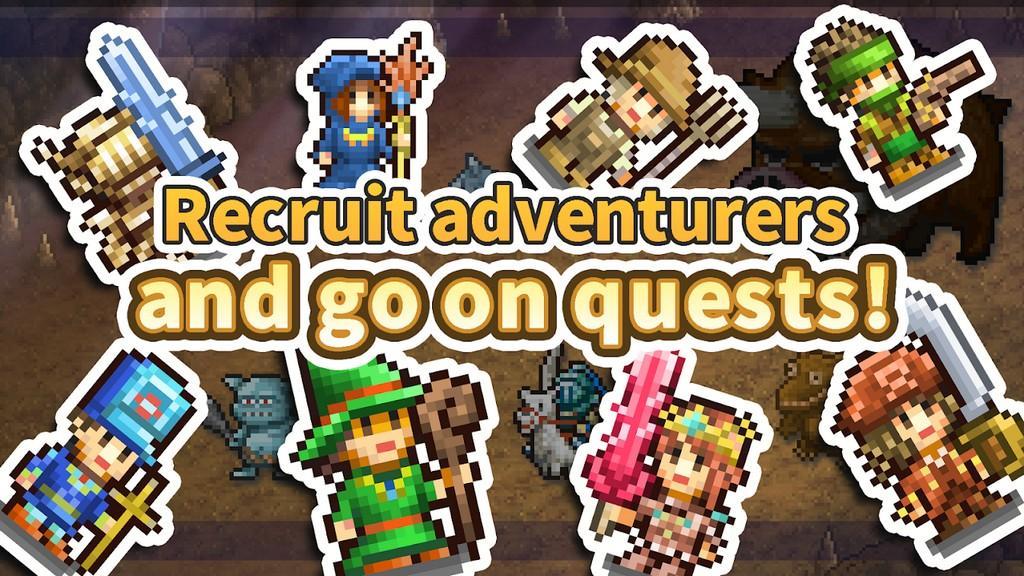 Kingdom Adventurers MOD APK - Reclutamiento