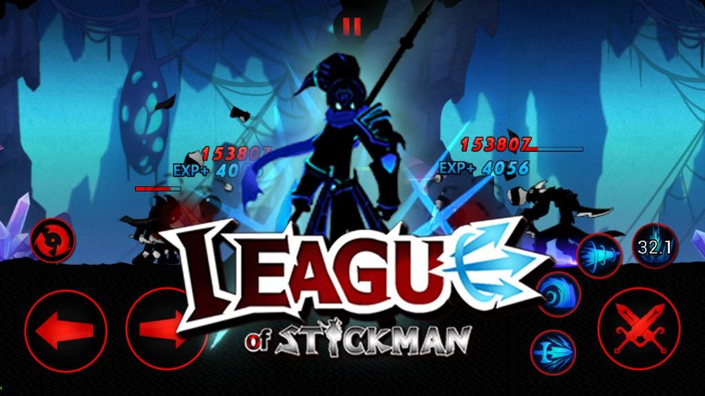 League of Stickman MOD APK - Gameplay