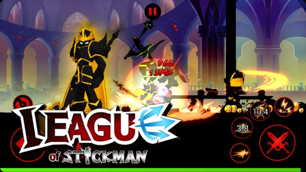 League of Stickman MOD APK - Batallas