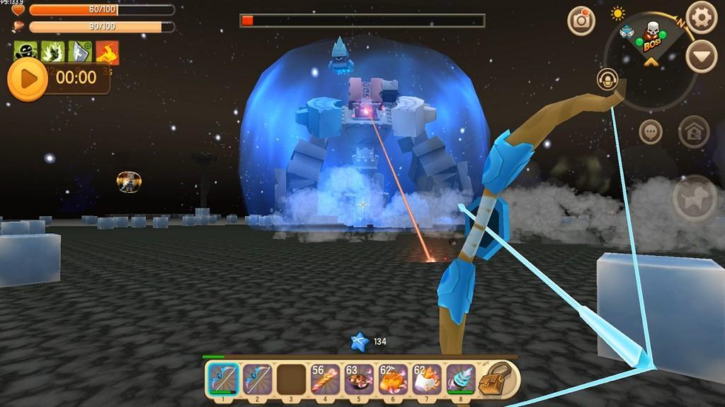 Mini World Block Art MOD APK - Gameplay