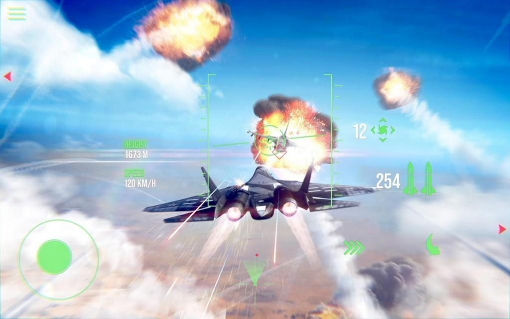 Modern Warplanes MOD APK - Gameplay