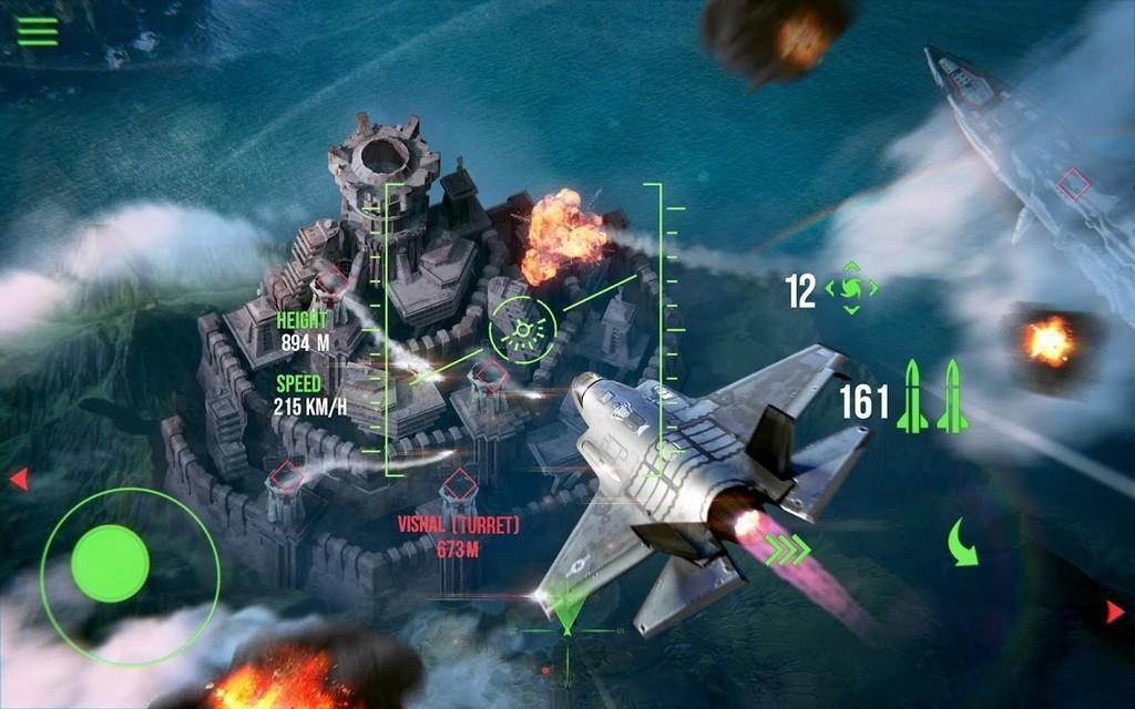 Modern Warplanes MOD APK - Aviones