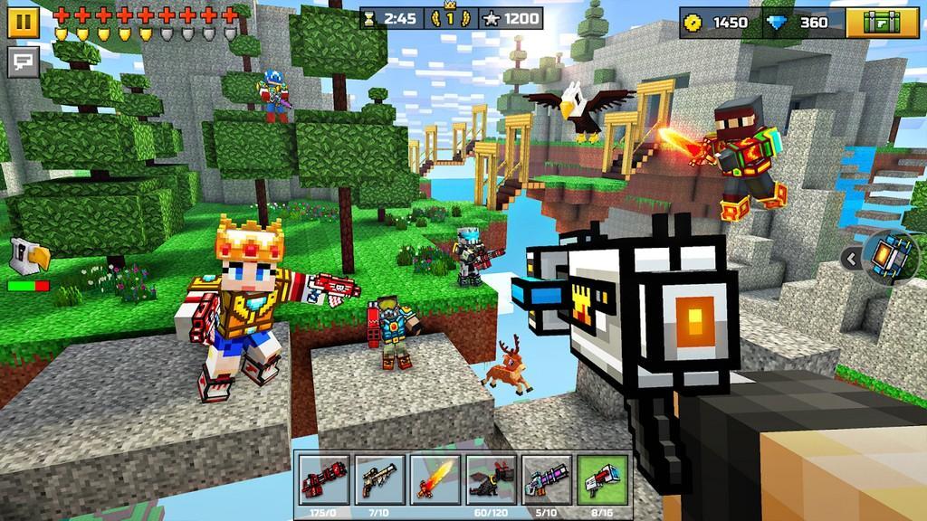 Pixel Gun 3D MOD APK - Control del Juego