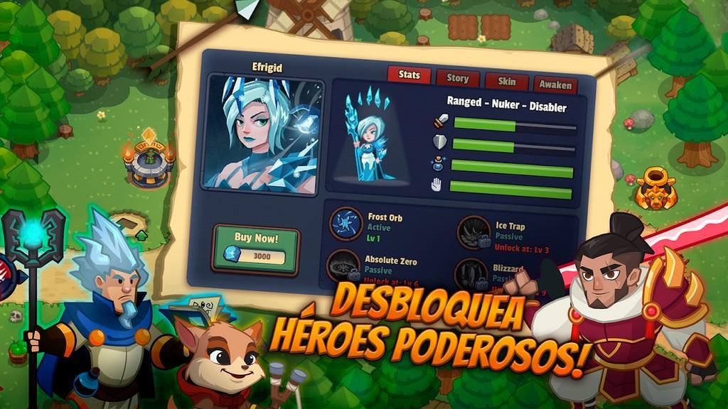 Realm Defense MOD APK - Héroes poderosos