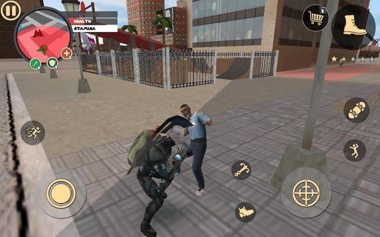 Rope Hero APK MOD Imagen 2