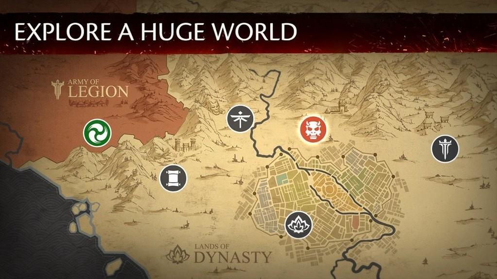 El mundo del juego es grande y desafiante.