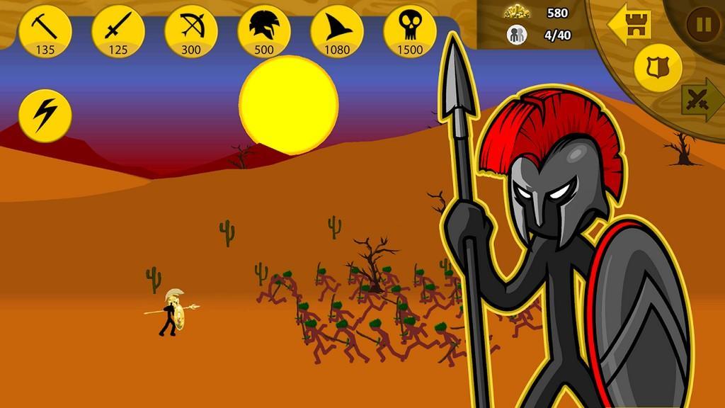 Stick War: Legacy MOD APK - Gameplay