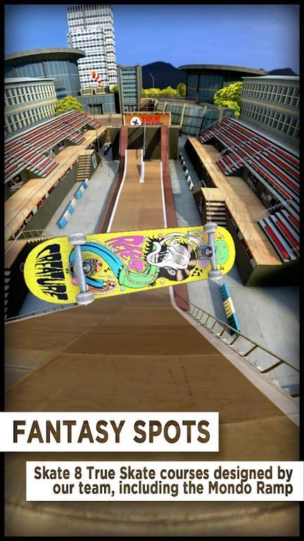 True Skate MOD APK - Control
