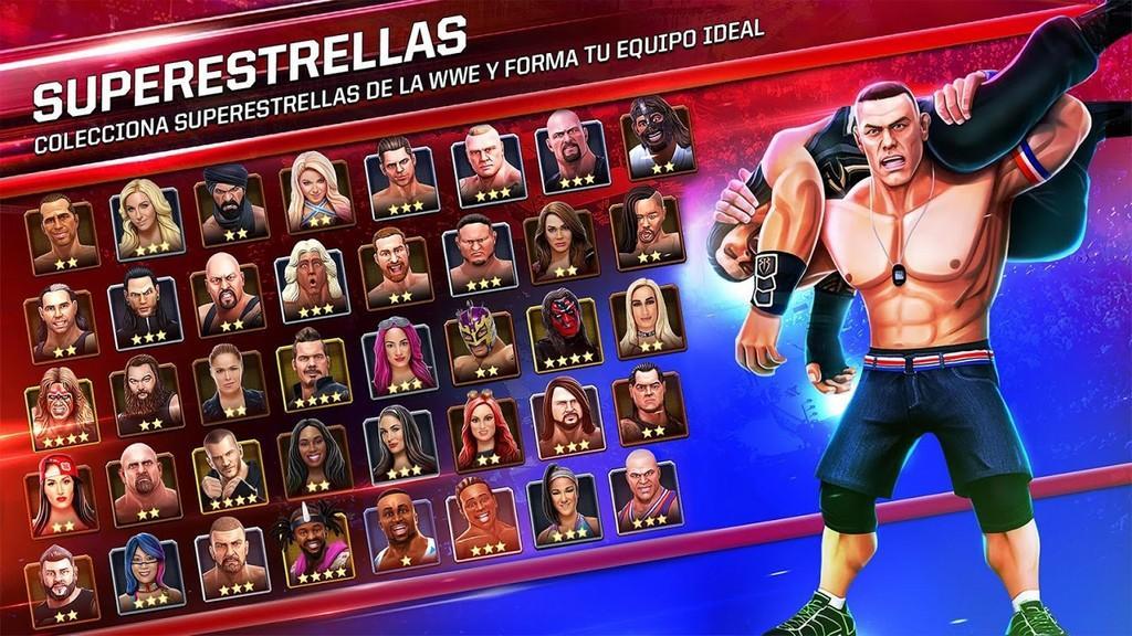 WWE Mayhem MOD APK - Superestrellas