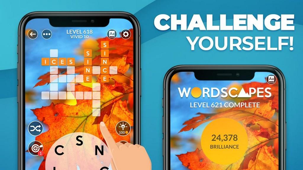 Wordscapes MOD APK - Gameplay