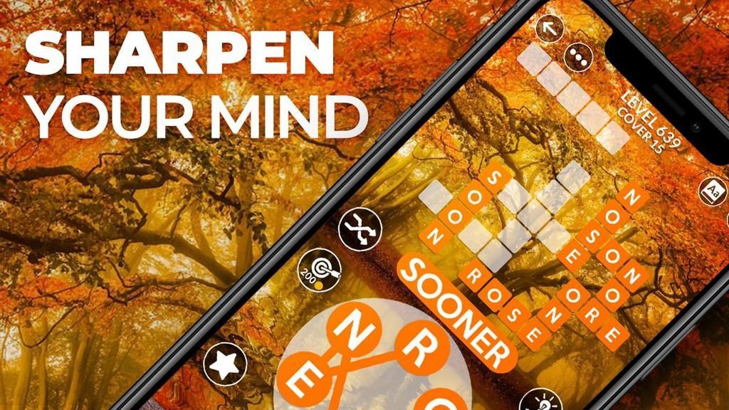 Wordscapes MOD APK - Aprende mientras juegas