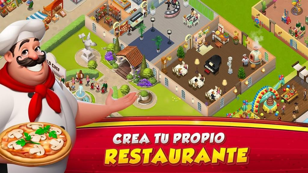 World Chef MOD APK - Gameplay