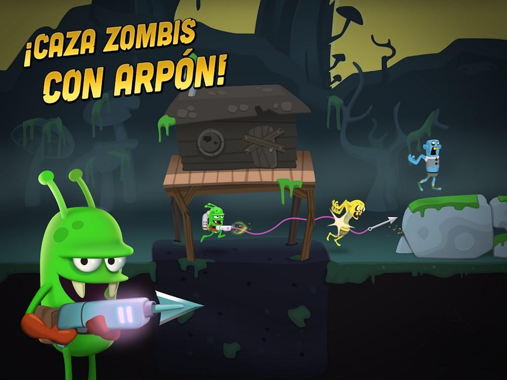 Zombie Catchers MOD APK - Caza zombis con arpón