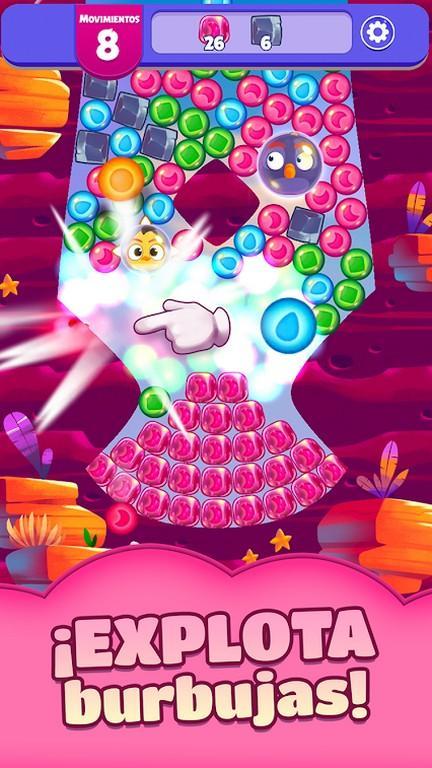 Angry Birds Dream Blast MOD APK - Explota burbujas