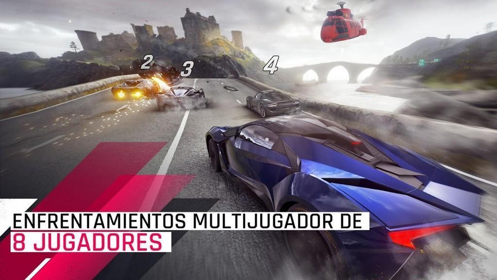Enfrentamientos multijugador de 8 jugadores
