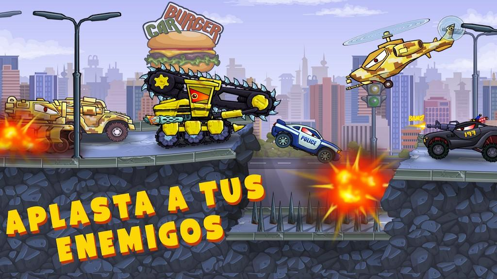 Car Eats Car 3 MOD APK - Gameplay