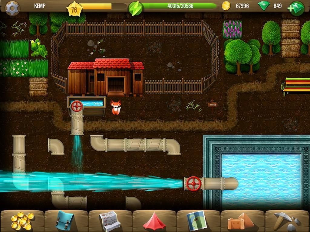 Diggy's Adventure MOD APK - Gameplay