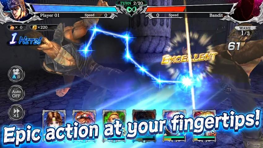 FIST OF THE NORTH STAR APK MOD Imagen 3