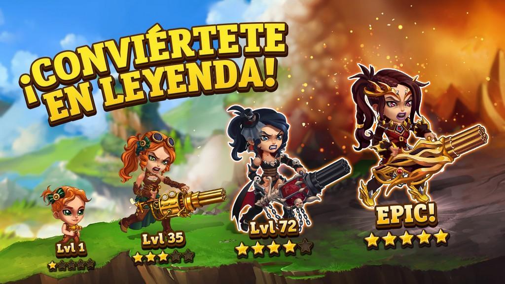 Hero Wars MOD APK - Leyenda