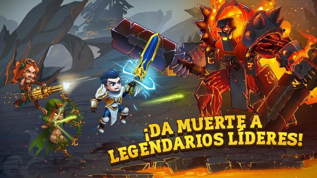 Da muerte a legendarios lideres!