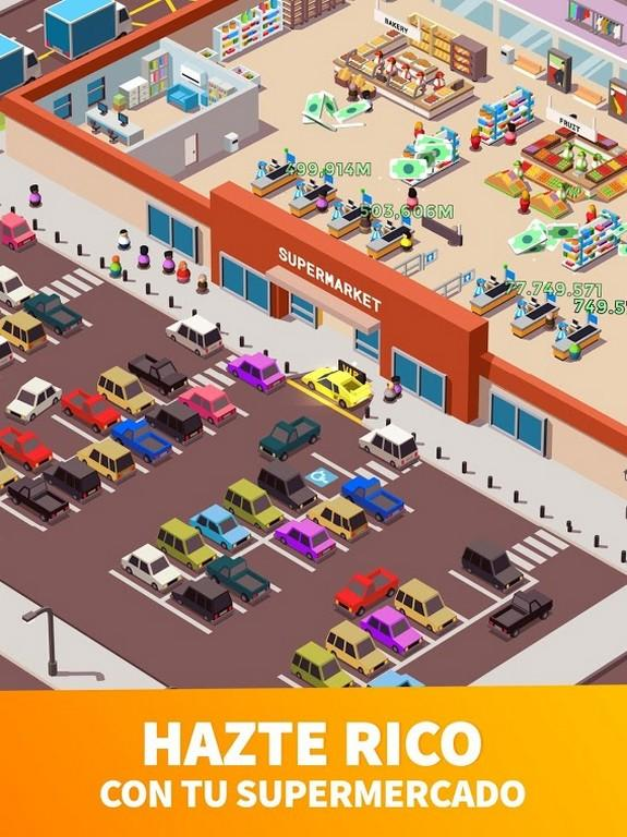 Idle Supermarket Tycoon MOD APK - Gameplay