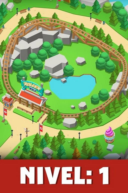 Idle Theme Park Tycoon MOD APK - Gameplay