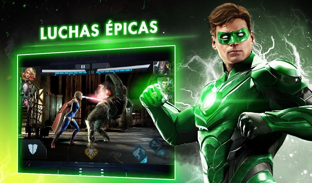 Injustice 2 MOD APK - Luchas épicas