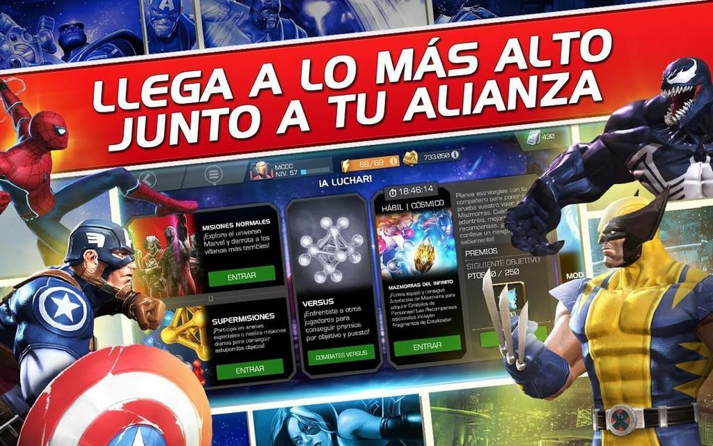 Marvel Contest of Champions MOD APK - alianzas