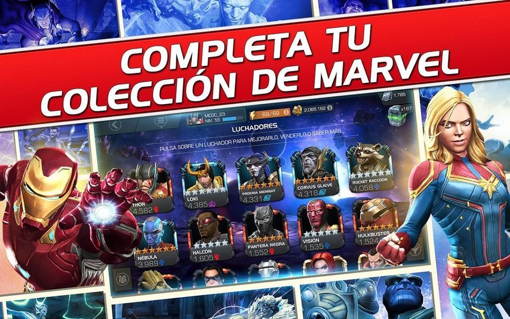 Completa tu coleccion de Marvel