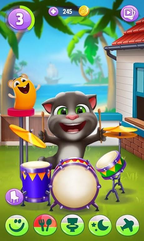 My Talking Tom 2 MOD APK - Gameplay