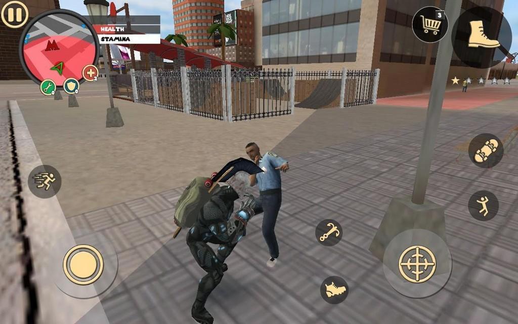 Rope Hero: Vice Town MOD APK - Mejora tus armas