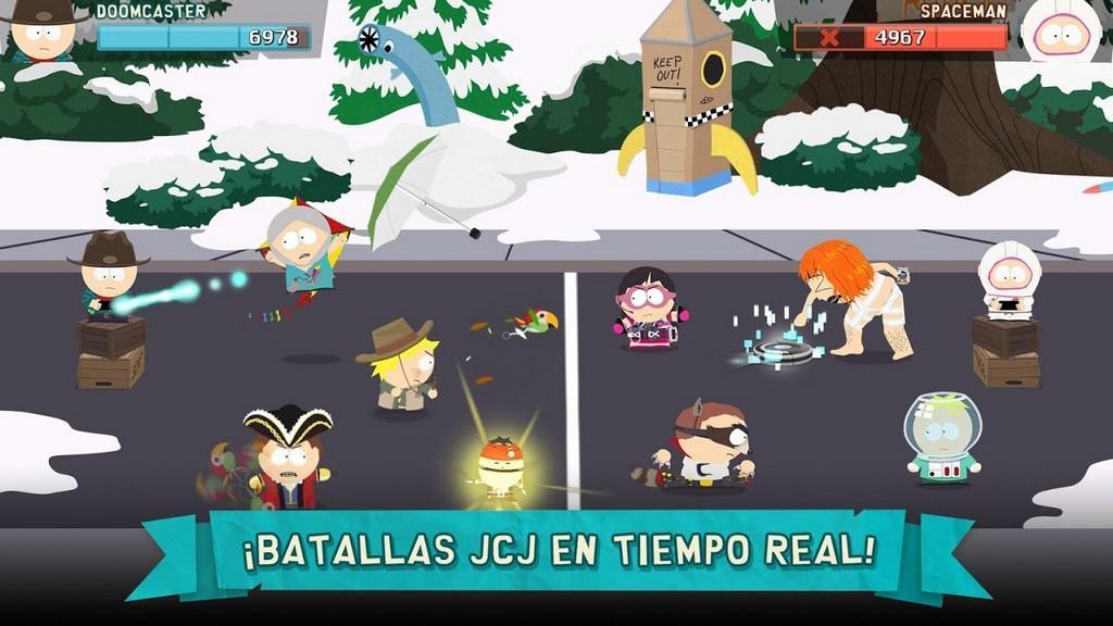 Batallas JCJ en tiempo real
