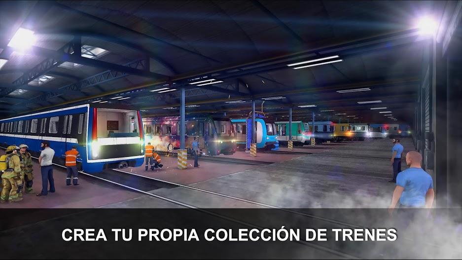 Subway Simulator 3D APK MOD Imagen 2