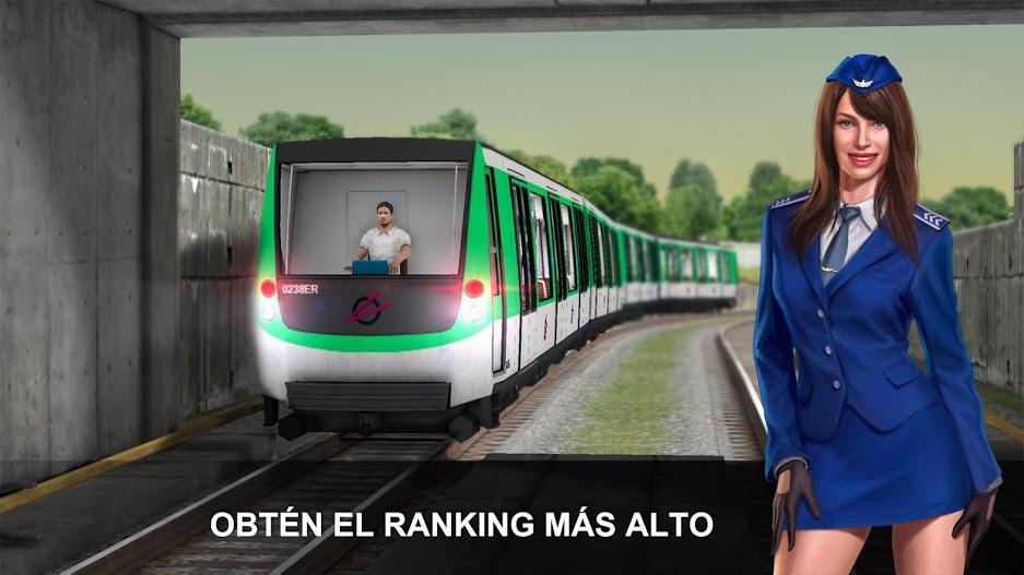 Subway Simulator 3D APK MOD Imagen 3